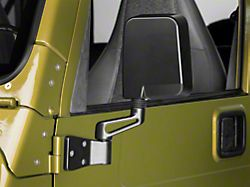 Rugged Ridge Black Mirrors (87-02 Jeep Wrangler YJ & TJ)