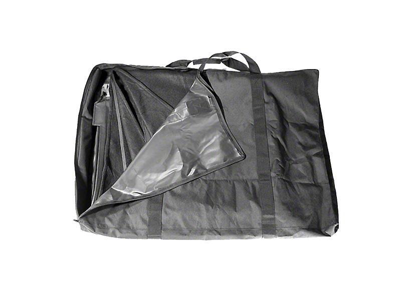 Rugged Ridge Soft Top Storage Bag - Black (87-06 Jeep Wrangler YJ & TJ)