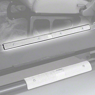 Rugged Ridge Brite Aluminum 24 in. Entry Guards (87-95 Wrangler YJ)