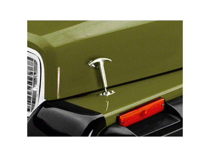 Rugged Ridge Chrome Hood Catch Kit (87-95 Jeep Wrangler YJ)