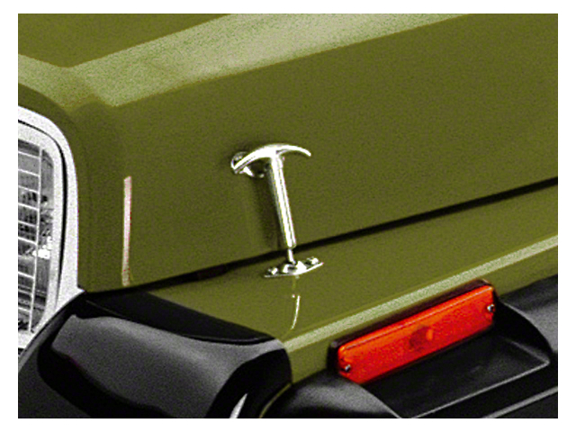 Rugged Ridge Hood Catches; Chrome (87-95 Jeep Wrangler YJ)