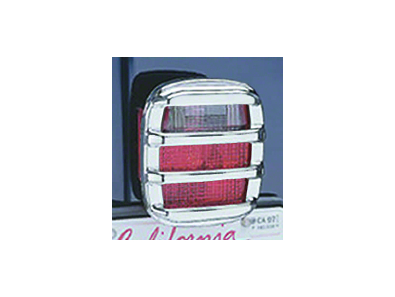 Rugged Ridge Taillight Guards - Chrome (87-06 Jeep Wrangler YJ & TJ)
