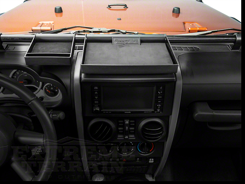 Rugged Ridge Dash Organizer (07-10 Jeep Wrangler JK)