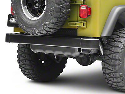 Rugged Ridge Black Plastic Rear Tailgate Sill (97-06 Wrangler TJ)