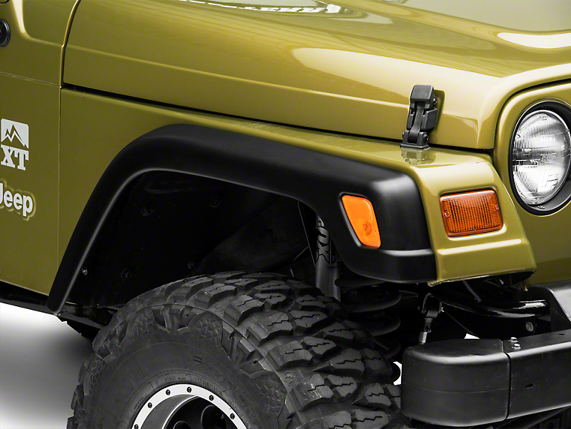 Factory Style Replacement Fender Flares (97-06 Jeep Wrangler TJ)