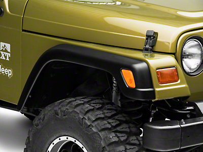 Omix-ADA Factory Style Replacement Fender Flare Kit w/o Hardware (97-06 Wrangler TJ)