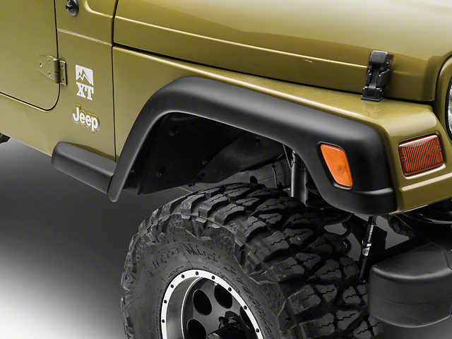 Fender Flare Extension; Passenger Side (97-06 Jeep Wrangler TJ)