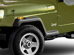 Omix-ADA Front Fender Flare Extension - Driver Side (87-95 Jeep Wrangler YJ)