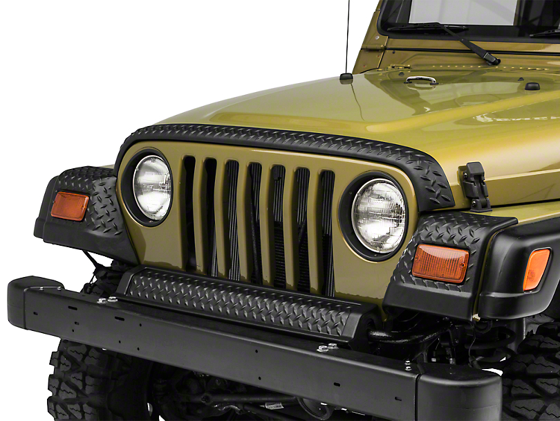 Rugged Ridge Full Body Armor Kit - Diamond Textured Black Plastic (97-06 Jeep Wrangler TJ)