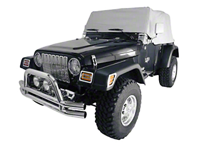 Rugged Ridge Gray Water Resistant Cab Cover (87-91 Wrangler YJ)