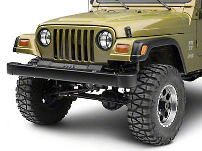 Rugged Ridge Headlight Euro Guards - Black (97-06 Jeep Wrangler TJ)