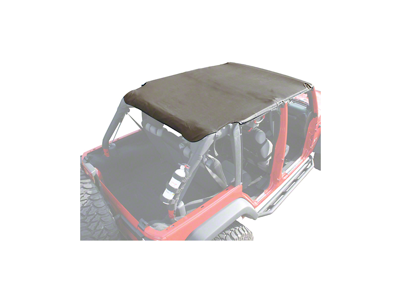 Rugged Ridge Island Pocket Topper; Khaki Diamond (07-09 Jeep Wrangler JK 4 Door)