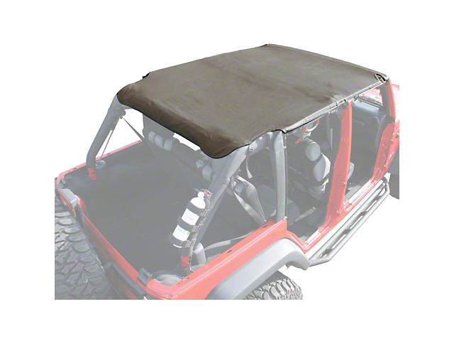 Rugged Ridge Pocket Island Top - Khaki Diamond (07-09 Jeep Wrangler JK 4 Door)