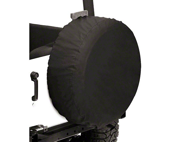Bestop Spare Tire Cover; Black Diamond; 32x12-Inch Tire Cover (66-21 Jeep CJ5, CJ7, Wrangler YJ, TJ, JK & JL)