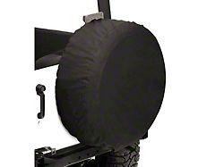 Bestop Spare Tire Cover; Black Diamond; 32x12-Inch Tire Cover (66-18 Jeep CJ5, CJ7, Wrangler YJ, TJ & JK)