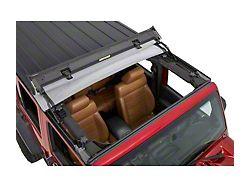 Bestop Sunrider for Factory Hard Tops; Black Diamond (07-18 Jeep Wrangler JK)