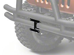 Rugged Ridge 3-Inch Tube Bumper License Plate Bracket (Universal Fitment)