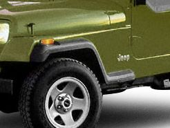 Omix-ADA OE Replacement Flares & Hardware (87-95 Jeep Wrangler YJ)