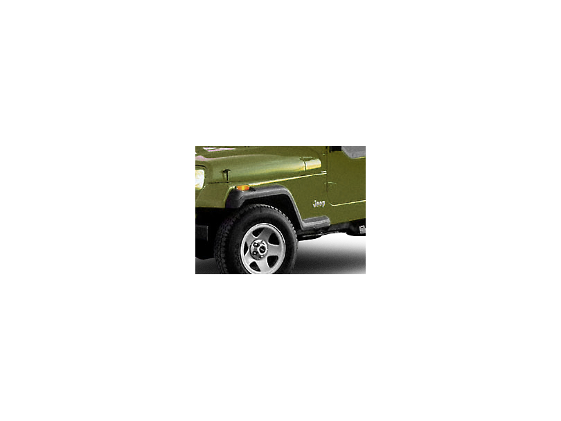 Factory Style Fender Flares with Front Extensions (87-95 Jeep Wrangler YJ)