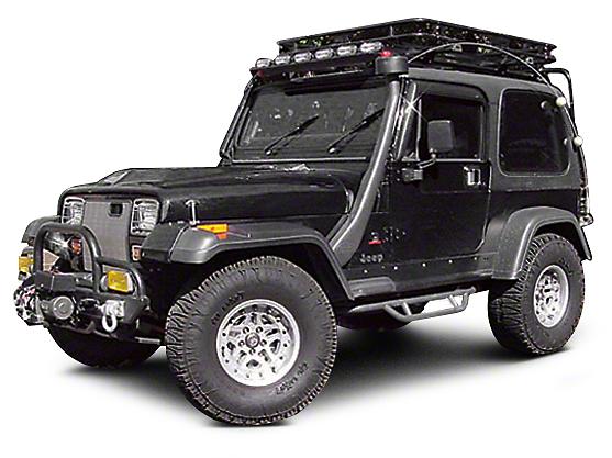 Omix-ADA Passenger Side Front Fender Flare Extension (87-95 Jeep Wrangler YJ)