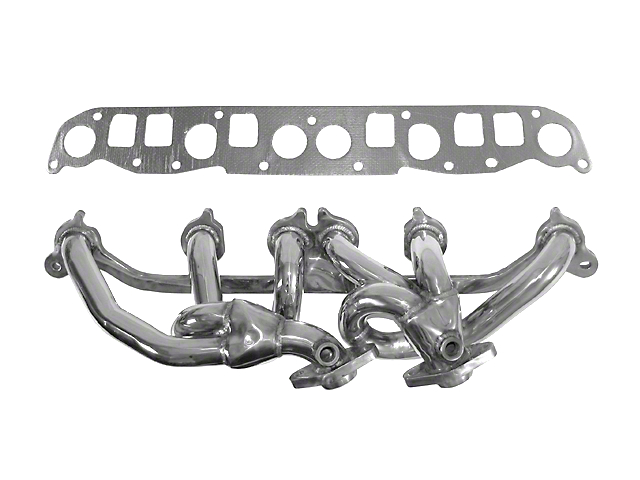 Rugged Ridge 304 Stainless Steel Exhaust Headers (00-06 4.0L Jeep Wrangler TJ)