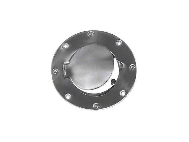 Rugged Ridge Polished Stainless Steel Gas Hatch (97-06 Jeep Wrangler TJ)
