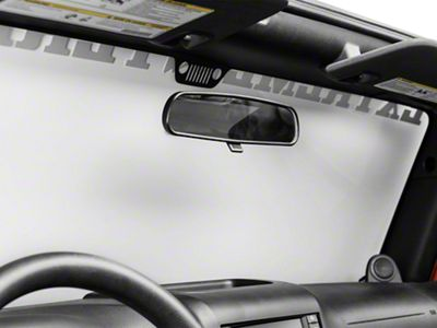 Rugged Ridge Rearview Mirror Kit (87-19 Jeep Wrangler YJ, TJ, JK & JL)