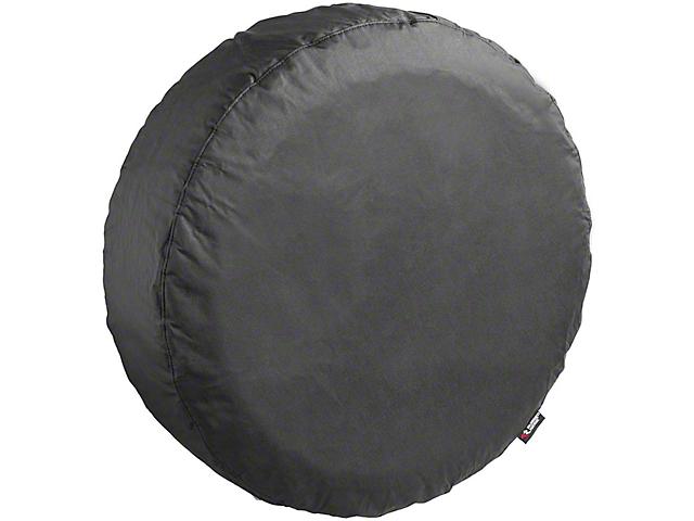 Rugged Ridge Spare Tire Cover; Black Diamond; 33 to 35-Inch Tire Cover (66-18 Jeep CJ5, CJ7, Wrangler YJ, TJ & JK)