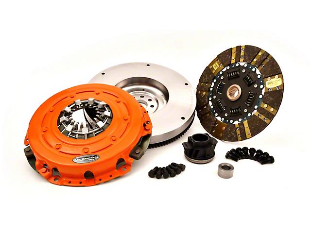 Centerforce Dual Friction Organic/Carbon Clutch Kit with Flywheel; 21 Spline (20-22 3.6L Jeep Gladiator JT)