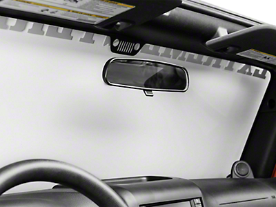 Rugged Ridge Rearview Mirror Kit (87-18 Jeep Wrangler YJ, TJ, JK & JL)