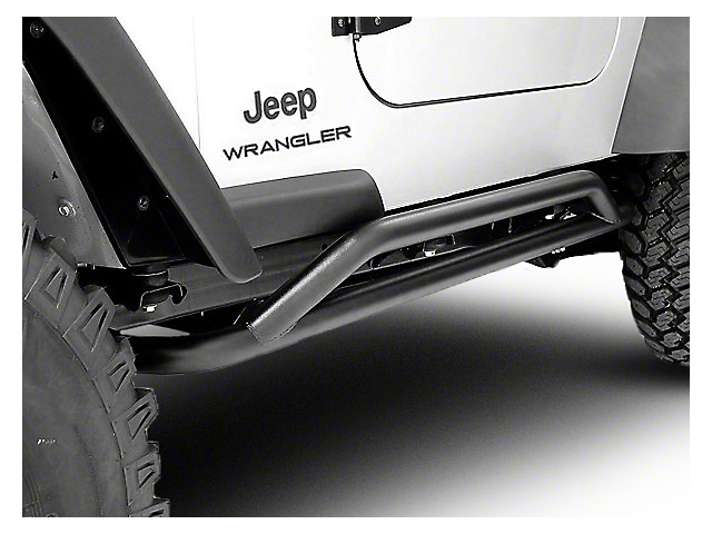 Rugged Ridge RRC Rocker Guards (87-06 Jeep Wrangler YJ & TJ)