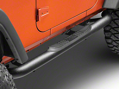 Rugged Ridge Side Step Bars (07-18 Jeep Wrangler JK 2 Door)