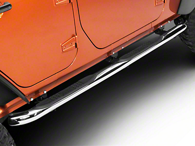 Rugged Ridge Side Step Bars (07-18 Jeep Wrangler JK 4 Door)