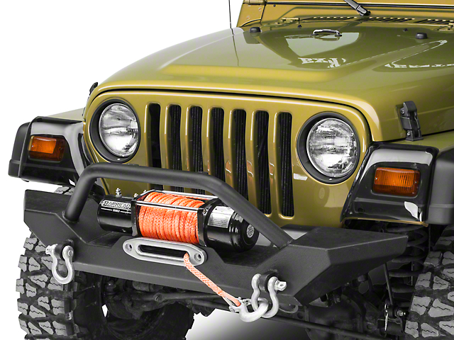 Rugged Ridge Molded Fender Guards (97-06 Jeep Wrangler TJ)
