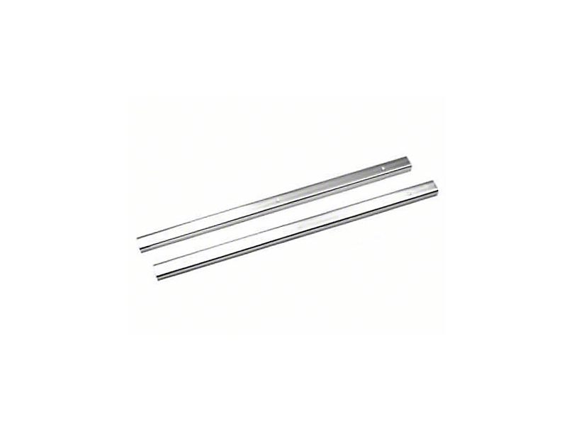 Rugged Ridge Door Entry Guards - Stainless Steel (87-95 Jeep Wrangler YJ)