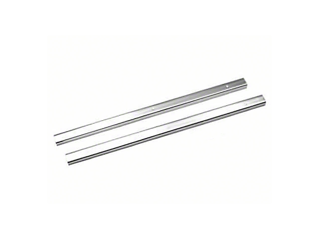 Rugged Ridge Door Entry Guards; Stainless Steel (87-95 Jeep Wrangler YJ)