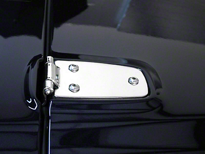 Rugged Ridge Hood Hinges - Stainless Steel (97-06 Wrangler TJ)