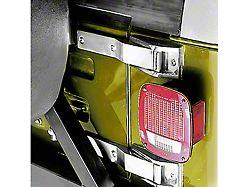 Rugged Ridge Stainless Steel Tailgate Hinge Pair (87-95 Jeep Wrangler YJ)