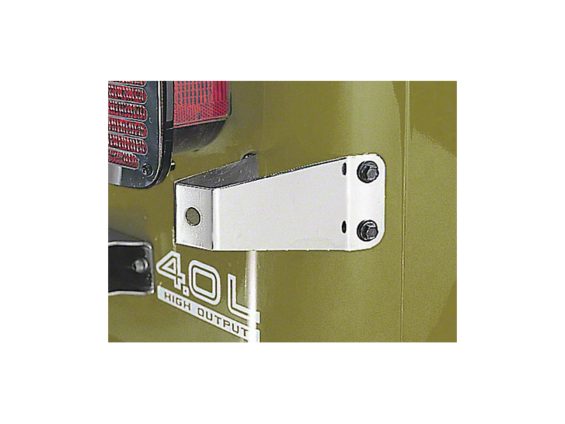 Rugged Ridge Spare Tire Stop; Stainless Steel (87-95 Jeep Wrangler YJ)