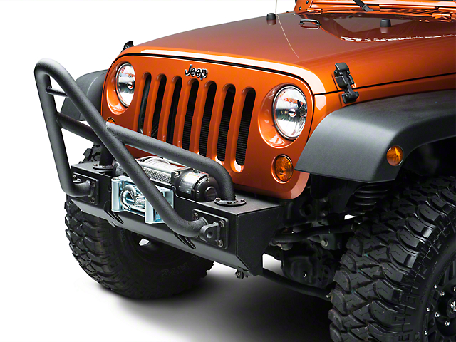Rugged Ridge Stinger for XHD Bumpers - Textured Black (87-20 Jeep Wrangler YJ, TJ, JK & JL)