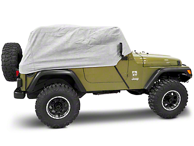 Rugged Ridge Three Layer Deluxe Cab Cover (87-06 Jeep Wrangler YJ & TJ)