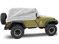 Rugged Ridge Deluxe Cab Cover (87-06 Jeep Wrangler YJ & TJ)