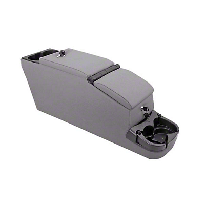 Rugged Ridge Ultimate II Console Assembly - Gray Vinyl (87-95 Jeep Wrangler YJ)