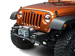 Rugged Ridge XHD Winch Front Bumper (07-18 Jeep Wrangler JK)