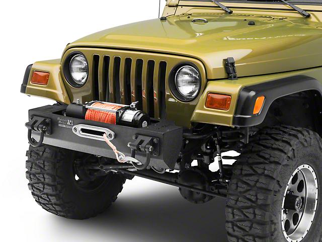 Rugged Ridge XHD Winch Front Bumper (87-06 Jeep Wrangler YJ & TJ)