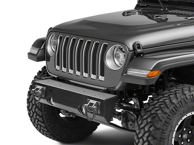 Rugged Ridge Modular Xhd Non Winch Mount Front Per Textured Black 2018 Jeep