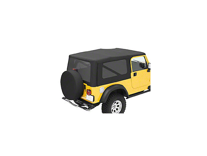Bestop Sailcloth Replace-A-Top w/ Tinted Windows - Black Diamond (04-06 Jeep Wrangler TJ Unlimited)