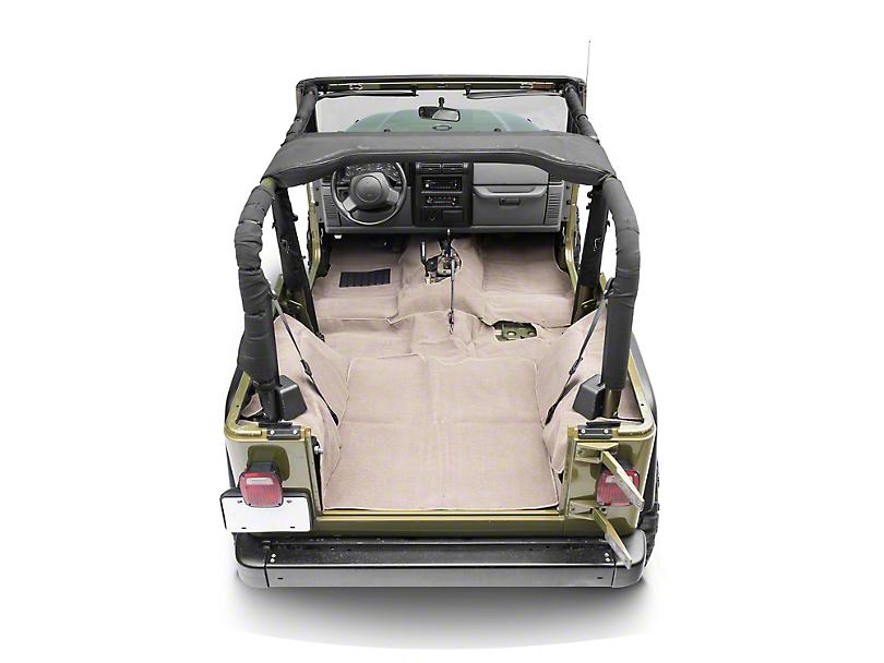 Rugged Ridge Deluxe Complete Carpet Kit - Honey (97-06 Jeep Wrangler TJ)