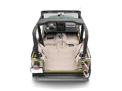 Rugged Ridge Deluxe Complete Carpet Kit - Honey (97-06 Wrangler TJ)