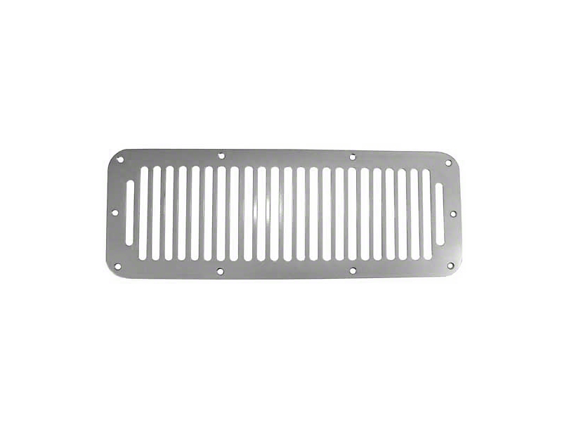 Rugged Ridge Satin Stainless Steel Hood Vent (87-95 Jeep Wrangler YJ)